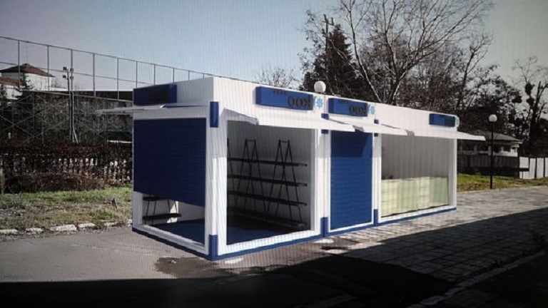 Pavilions with the same vision will change the stalls in Sunny Beach